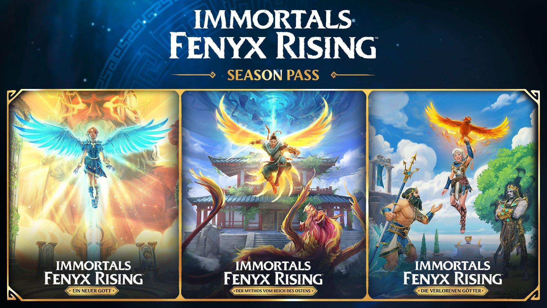Sélection de Season Pass en promotion sur PC - Ex: SP Immortals Fenyx Rising (Dématérialisé - Ubi Connect)