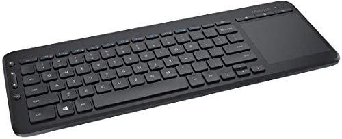 Clavier sans fil avec pavé tactile tout-en-un Microsoft - QWERTZ, Noir