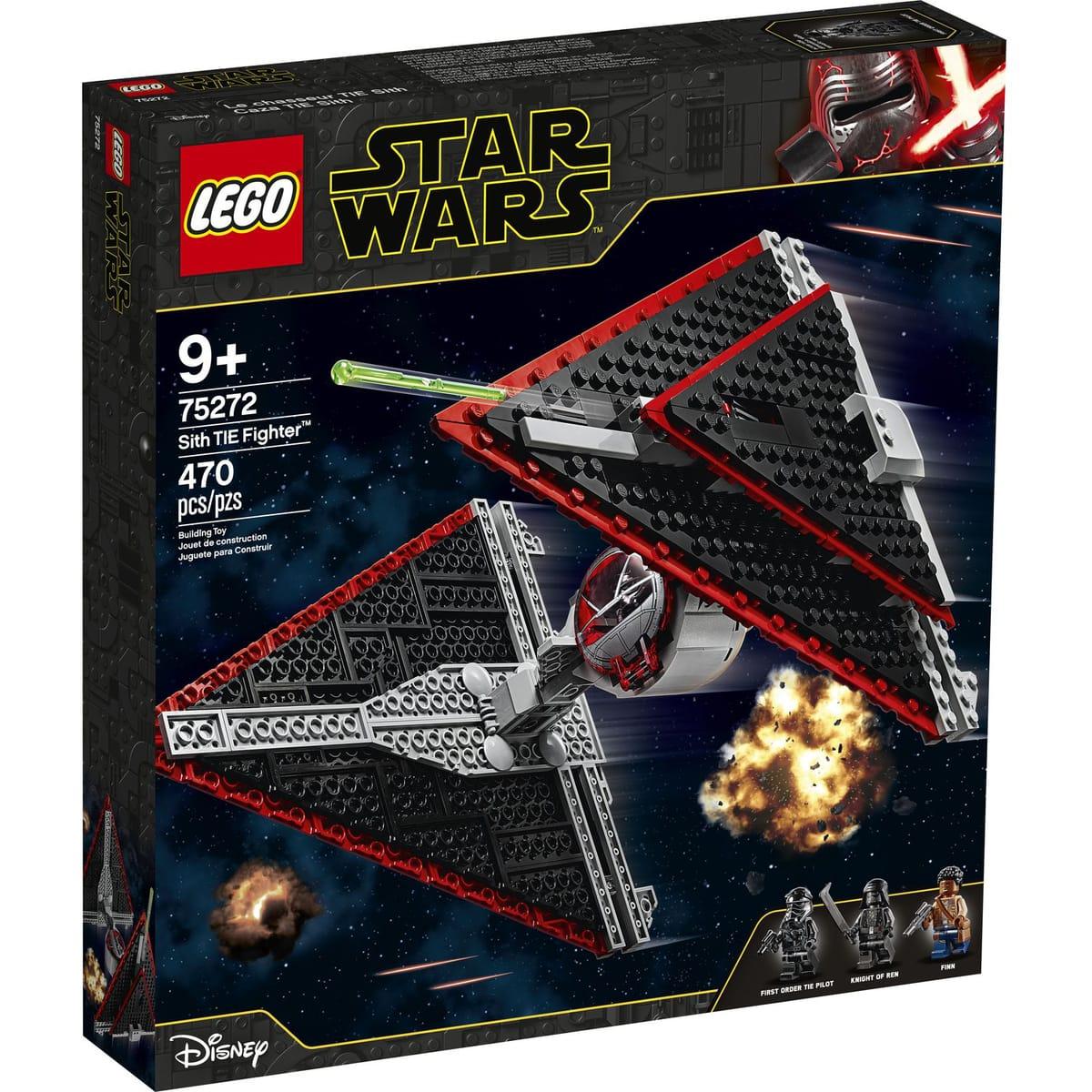 Sélection de jouets Lego en promotion - Ex: Le chasseur Tie Sith Lego Star Wars - 75272
