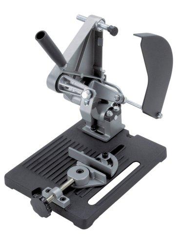 Support de tronçonnage pour meuleuse d'angle Wolfcraft 5019000 - 115/125 mm, argent