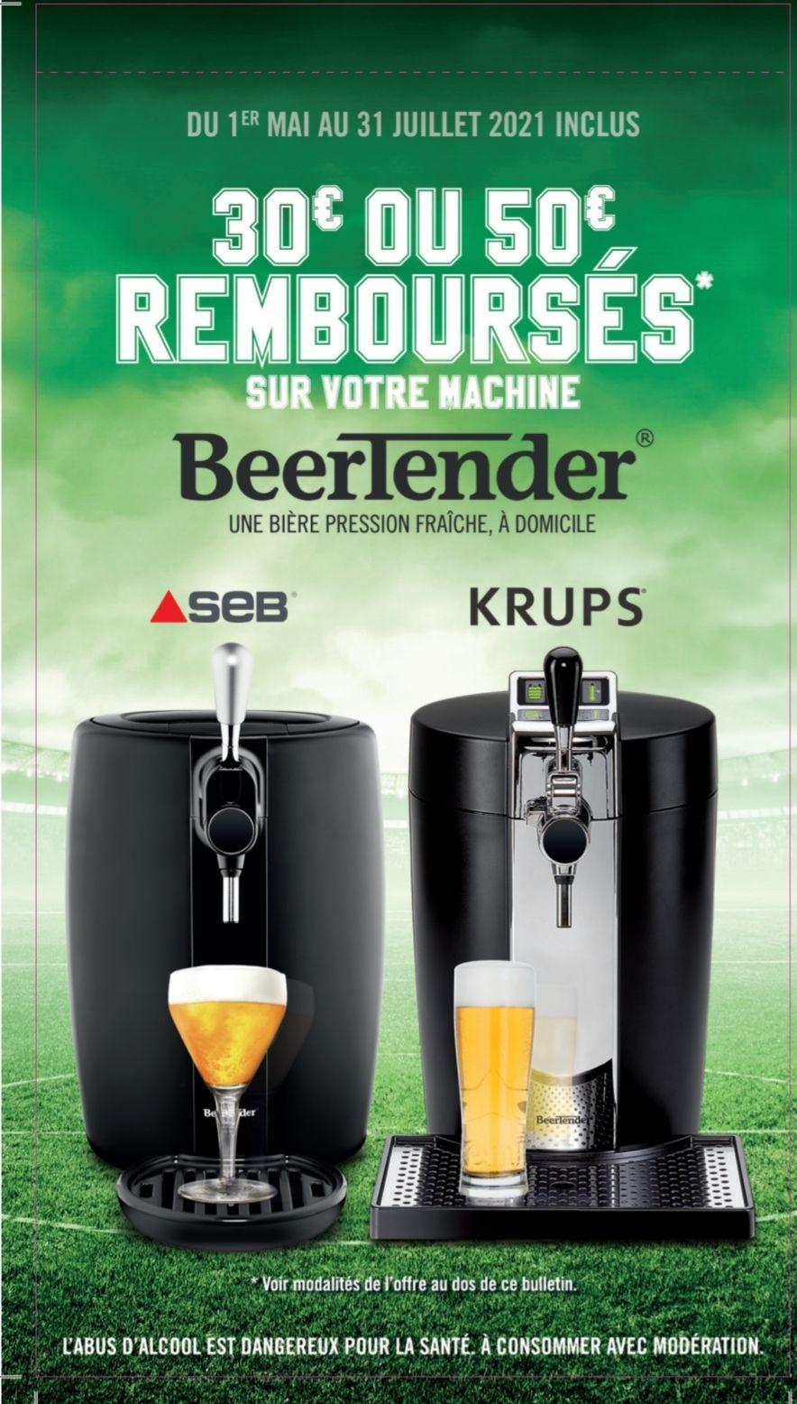 Machine à bière SEB VB310E10 Beertender + 1 fût Heineken 5L