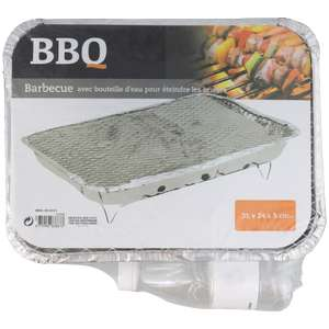 Barbecue jetable Instant BBQ - 31 x 24 x 5 cm