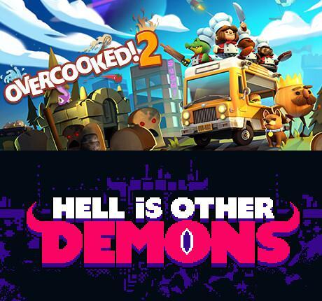 Overcooked! 2 et Hell is Other Demons gratuits sur PC (Dématérialisé)