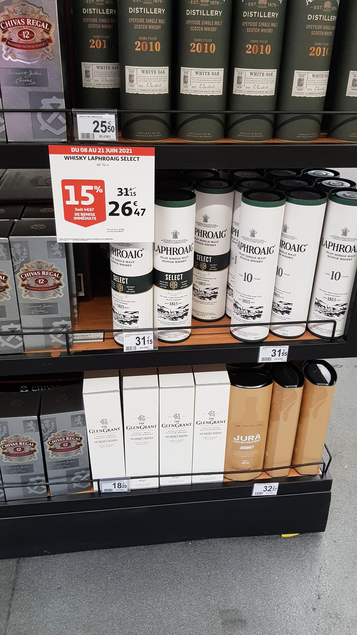 Whisky Laphroaig Select - 40°, 70cl