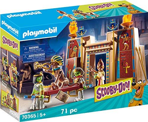 Jeu de construction Playmobil - Scooby-Doo! Histoires en Egypte (70365)