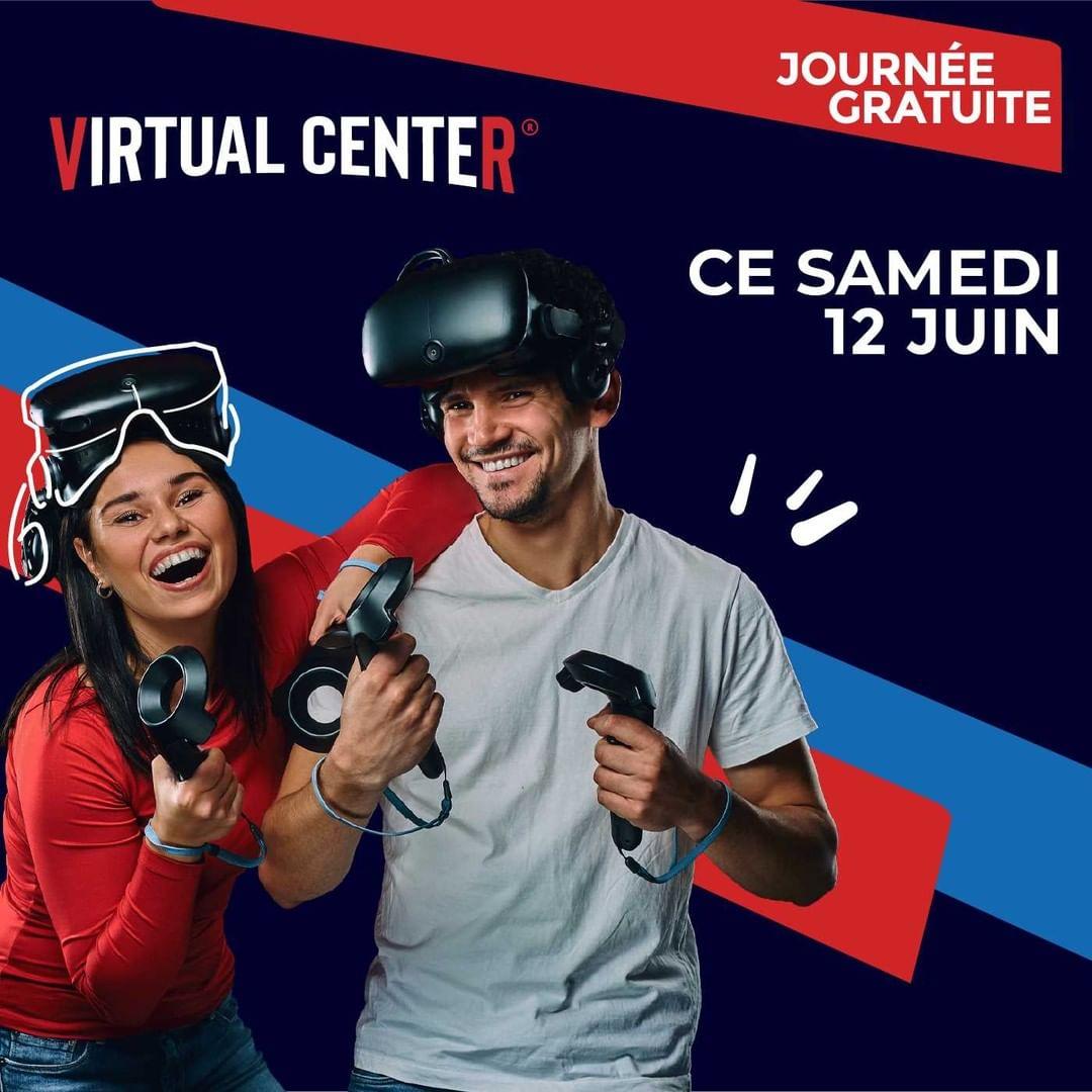 Journée gratuite au Centre Arcade VR Virtual Center - Paris Montparnasse (75)