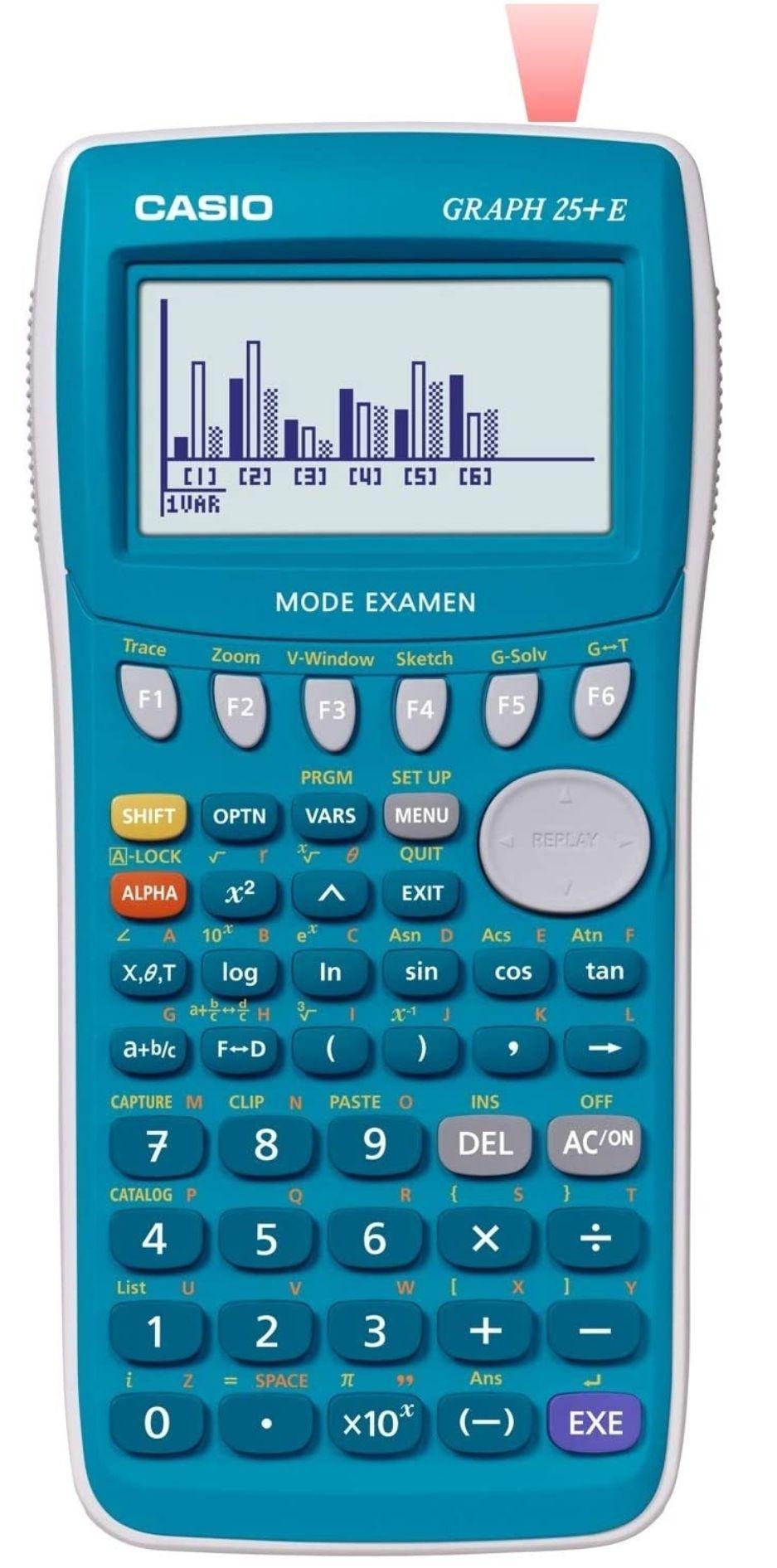 Calculatrice graphique Casio Graph 25+ EII (Frais d'importation inclus)