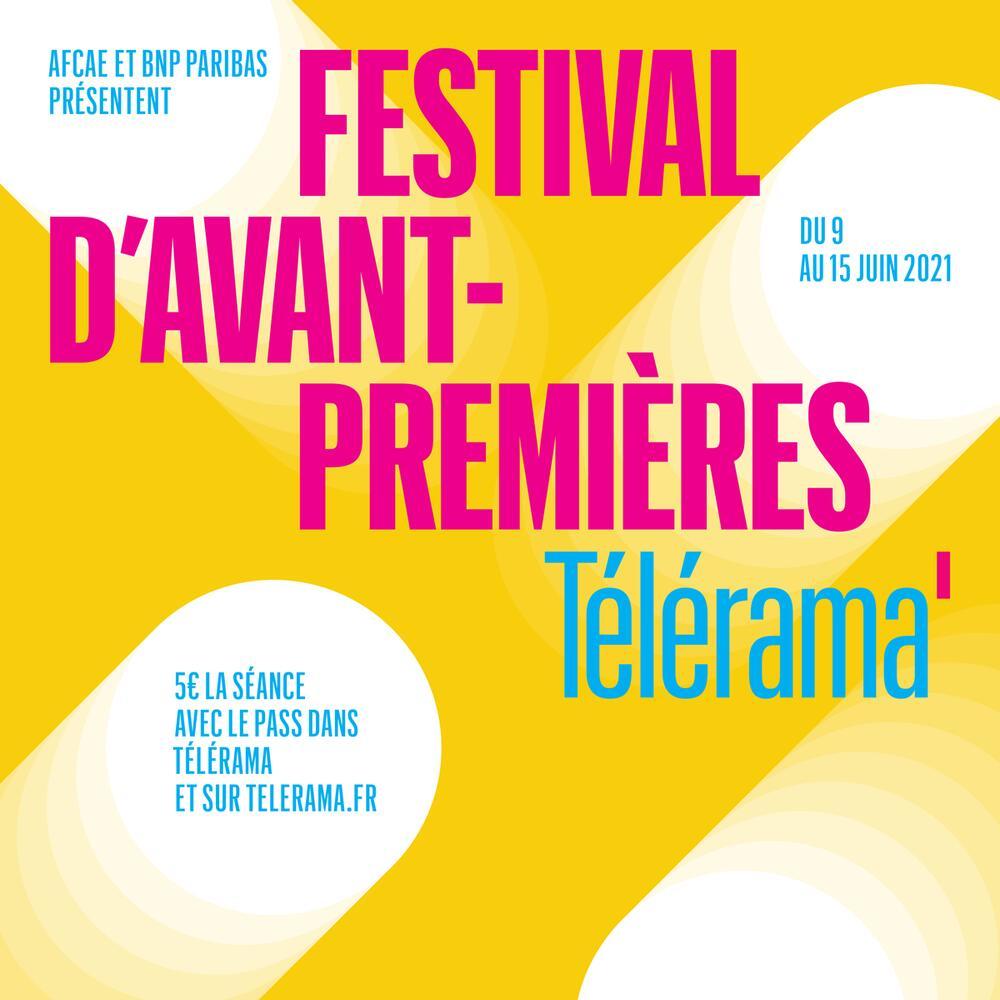 [Festival d'Avant-Premières Télérama] Pass 2 personnes pour une sélection de 10 films en avant-premières à 5€ - salles de cinéma art & essai