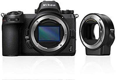 Appareil photo Hybride Nikon Z6 + adaptateur FTZ + 64 Go XQD - Capteur plein format 24.5 MP,