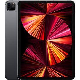 """Tablette tactile 11"""" Apple iPad Pro (2021) - M1, 8 Go de RAM, 128 Go, Gris sidéral"""