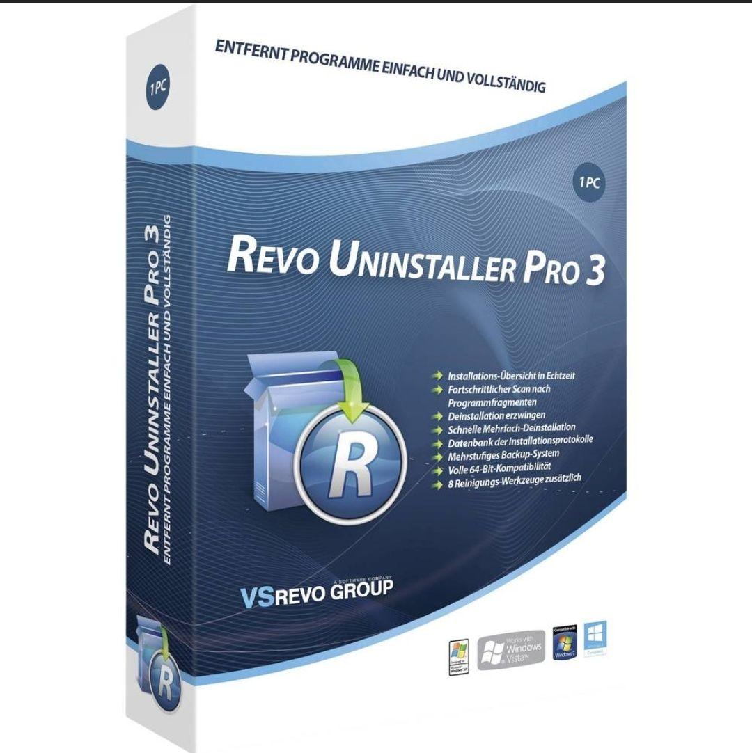Licence Revo Uninstaller Pro 3 Gratuite à Vie sur PC (Dématérialisé) - softwarestars.org