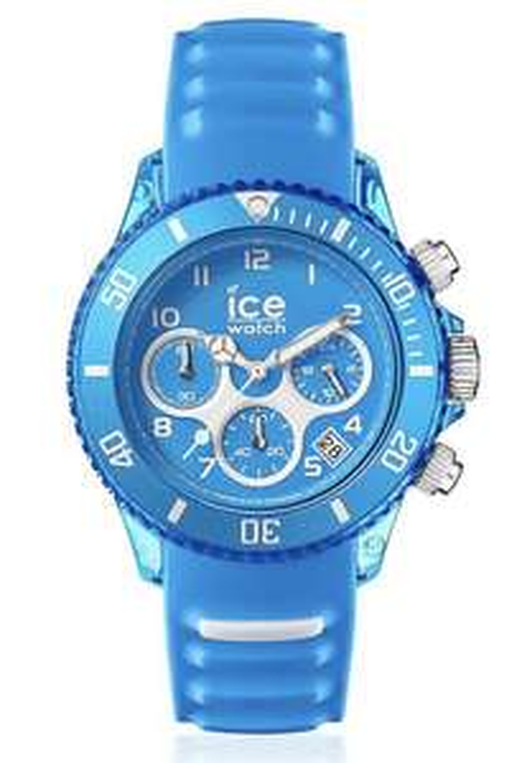 Sélection de montres Ice Watch - Ex: Ice Aqua Silicone bleu - 44mm