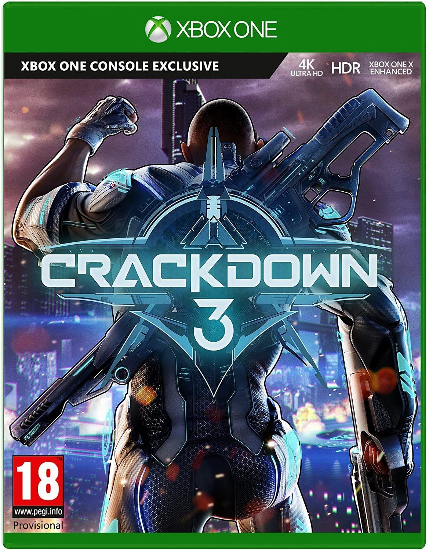 Crackdown 3 sur Xbox One (retrait magasin)