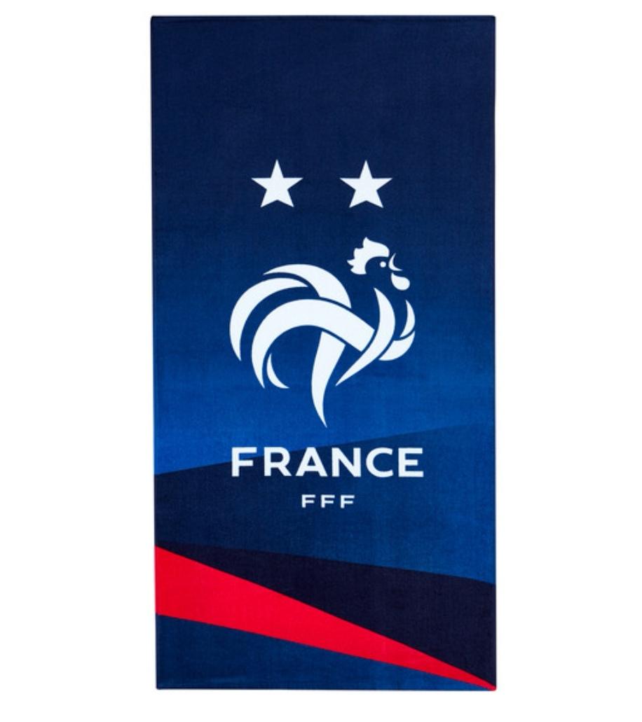 Drap de plage Équipe de France - 75 x 150 cm