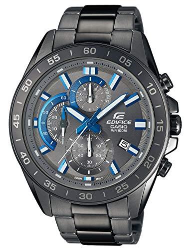 Montre Analogique Quartz Casio Edifice pour Homme (EFV-550GY-8AVUEF) - Noir/bleu
