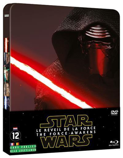 [Adhérents] Steelbook Star Wars - Le réveil de la Force en Blu-ray + DVD (via 5€ sur la carte)