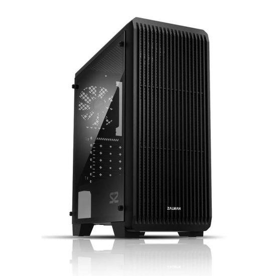 Boitier PC Zalman S2 - Moyen Tour, Noir