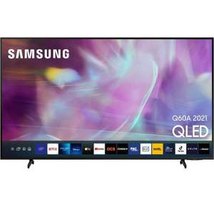 """TV 75"""" Samsung QE75Q60A (2021) - QLED, 4K UHD, HDR 10+, Smart TV (Via ODR de 300€)"""