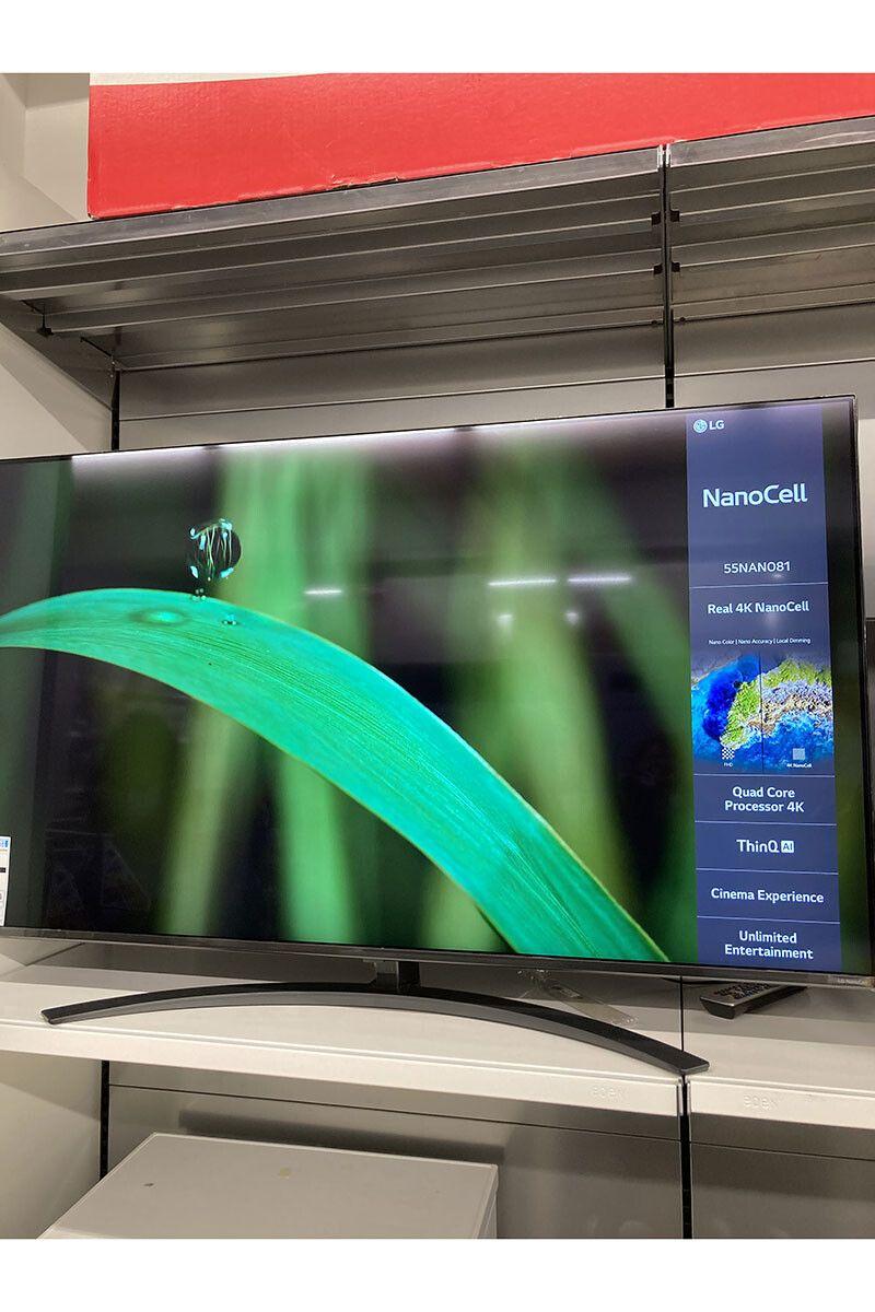 "TV 55"" LG Nanocell 55NANO816 - 4K UHD, LED, WebOS (klo.fr - Via Retrait magasin)"