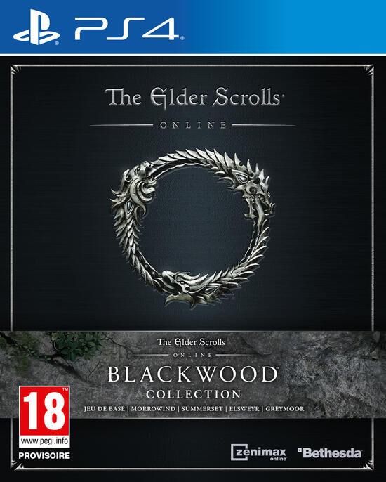 The Elder Scrolls Online BlackwoodPS4 (mise à niveau PS5 inclus) + 3000 couronnes + 3 mois de PlayStation Plus