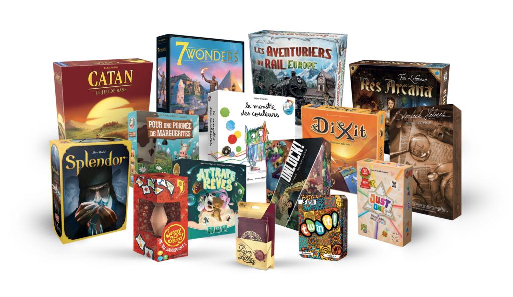 2 jeux de société Asmodée achetés = le 3ème offert (le moins cher) - en magasin participant