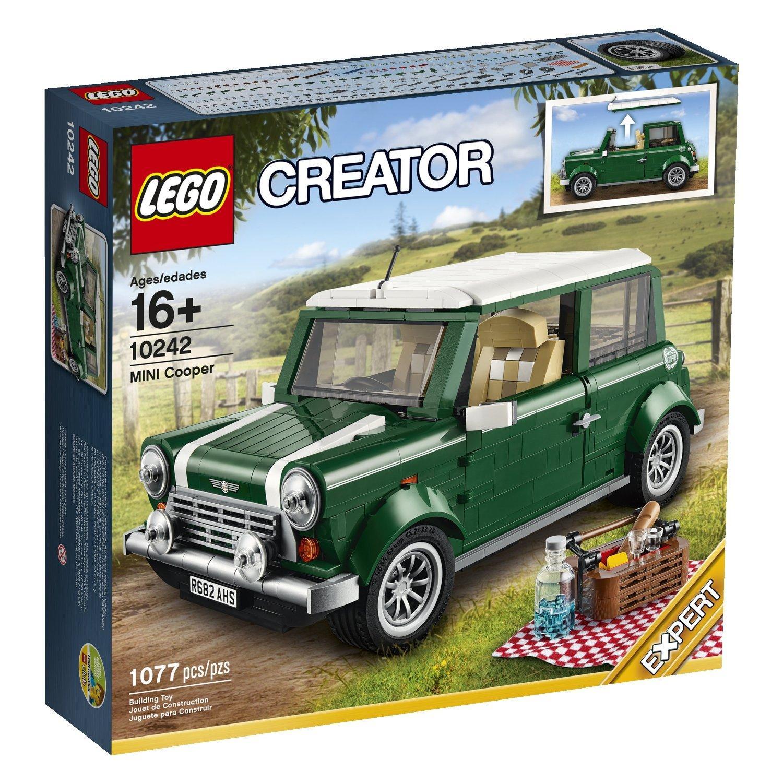 Jouet Lego Creator Expert 10242 Mini Cooper MK VII, Vert et Blanc
