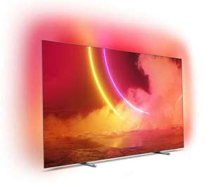 """TV OLED 65"""" Philips 65OLED805 - UHD 4K, Ambilight 3 côté + Hue, HDR10+ (frontaliers Suisse)"""