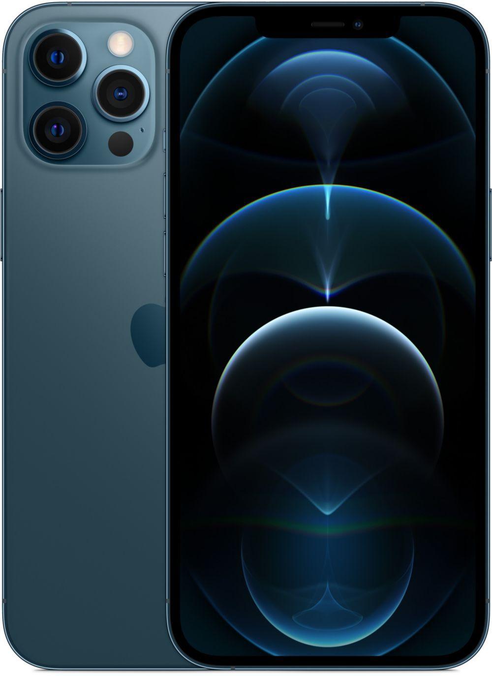 """Smartphone 6.7"""" Apple iPhone 12 Pro Max - 128 Go (Modèle japonais avec son photo)"""