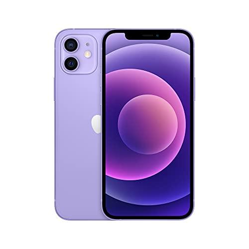 "Smartphone 6.1"" Apple iPhone 12 - 128 Go, Violet, Noir, Rouge"