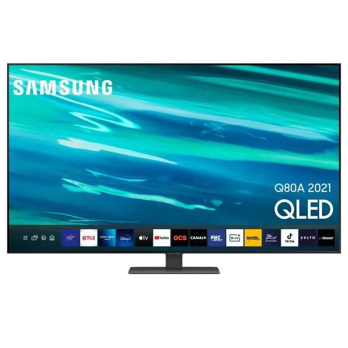 "TV 65"" Samsung QE65Q80A - 4K UHD (via 200€ ODR)"