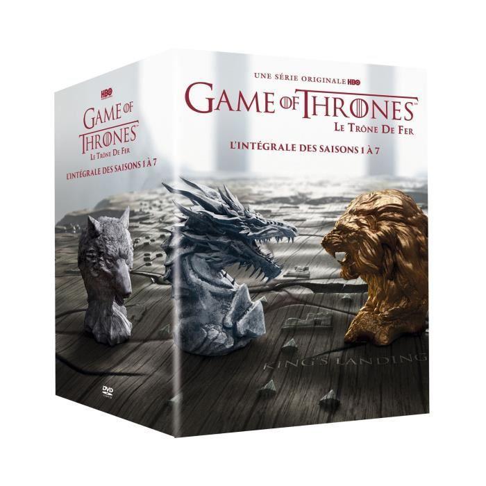 Coffret Blu-ray Game of Thrones - Saisons 1 à 7 (Vendeur Tiers)