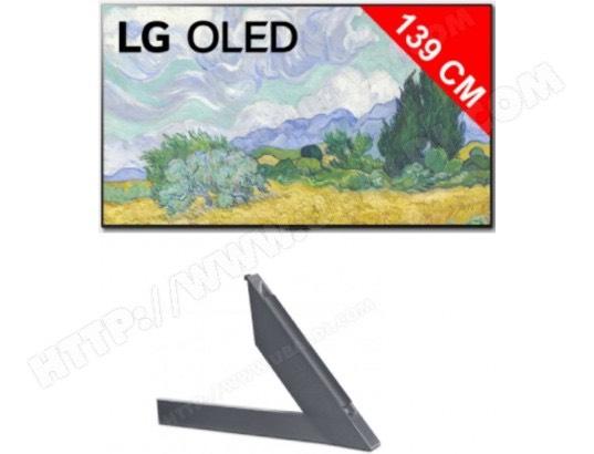"TV OLED 55"" LG OLED55G16LA (4K UHD, 100 Hz, Dolby Vision IQ & Atmos, Smart TV) + Kit pieds ANGXDV55 (Via remise panier)"