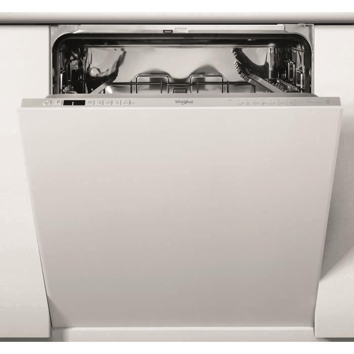 [CDAV] Lave-vaisselle Whirlpool WIC3C34PE - 14 couverts, moteur induction, Classe D