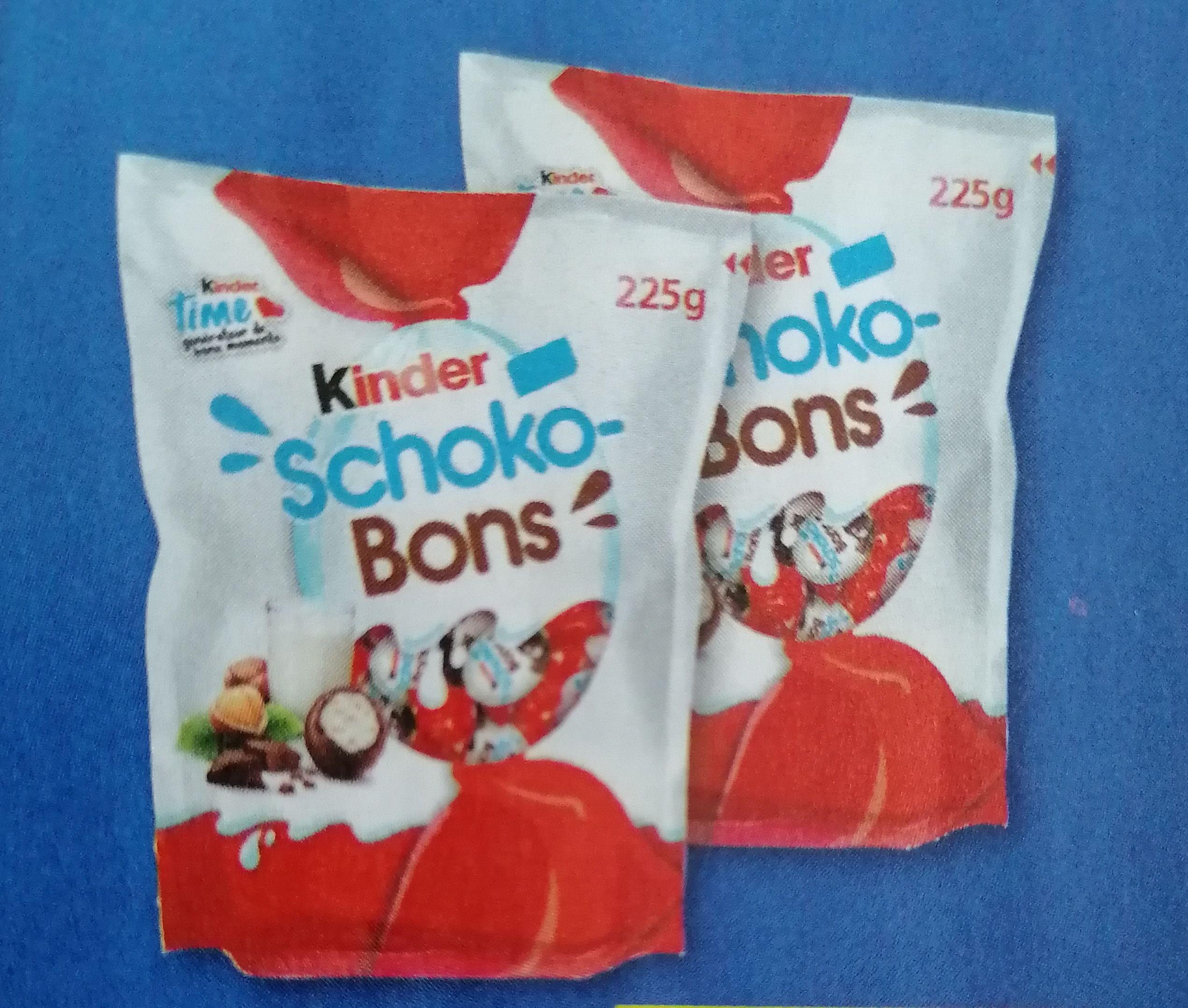 Lot de 2 paquets de Kinder Schoko-bons (2x225g)