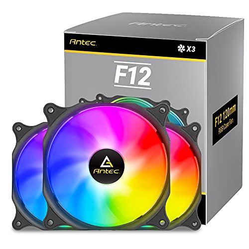 Lot de 3 ventilateurs RGB 120mm Antec F12 (Vendeur Tiers)