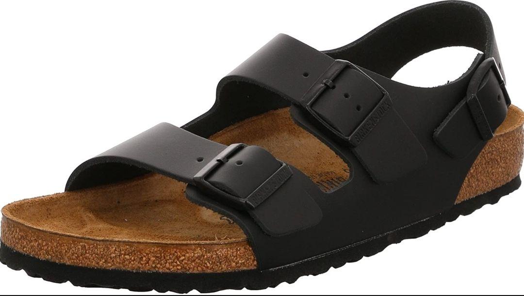 Sandales Birkenstock Milano Cuir Large