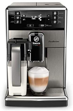 Machine à expresso automatique avec broyeur Saeco PicoBaristo SM5473/10 (via ODR de 30€)