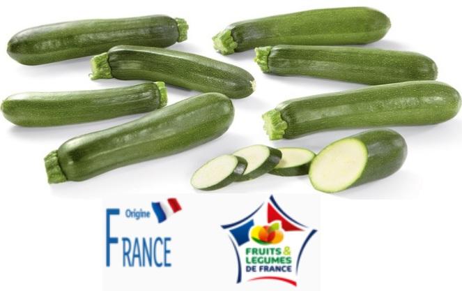 1 kilo de Courgettes - Catégorie 1, Origine France