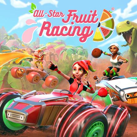Jeu All Star Fruit Racing sur PS4 (Dématérialisé)