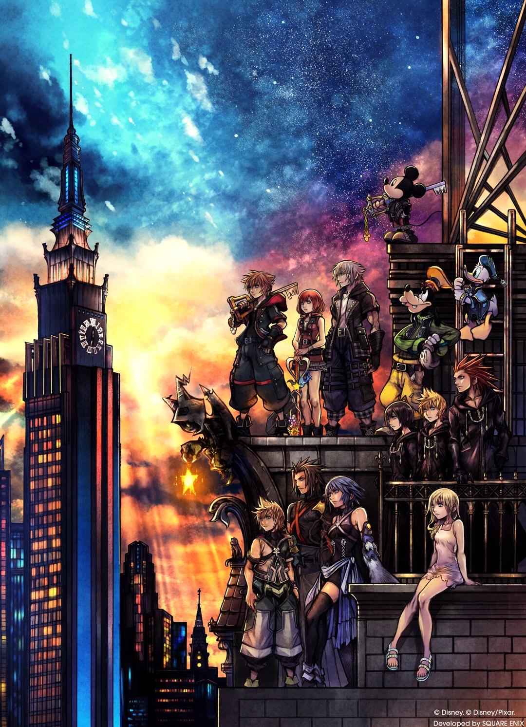 Kingdom Hearts III + Re Mind (DLC) sur PC (Dématérialisé)