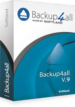 Logiciel Backup4all Lite 9 - licence à vie - 1 Appareil sur PC (Dématérialisé)