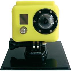 Housse silicone XSories pour camera Gopro jaune ou bleu port inclus