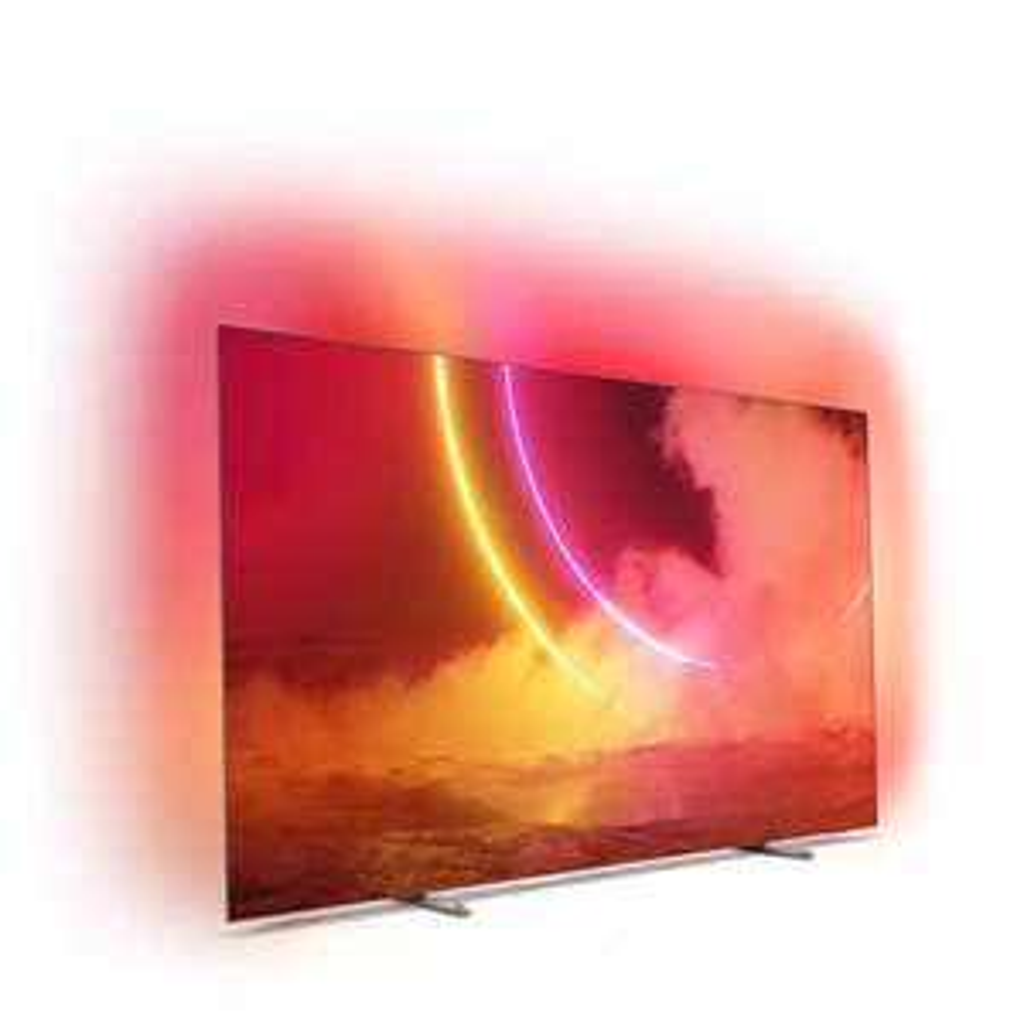 """TV OLED 65"""" Philips 65OLED805 - UHD 4K, Ambilight 3 côté + Hue, HDR10+"""