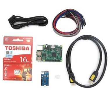 Kit Starter Raspberry Pi 3 - Modèle B, RAM 1 Go