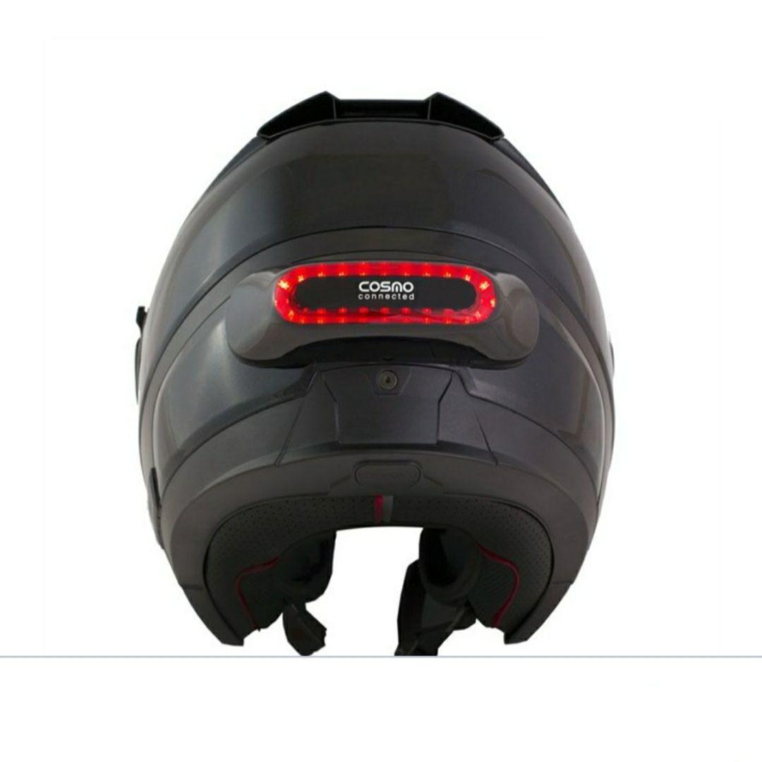 Feu de freinage pour casque moto Cosmo Connected