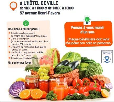 [Demandeurs d'emploi] Distribution Gratuite de Fruits et de Légumes d'été - Bagneux (92)