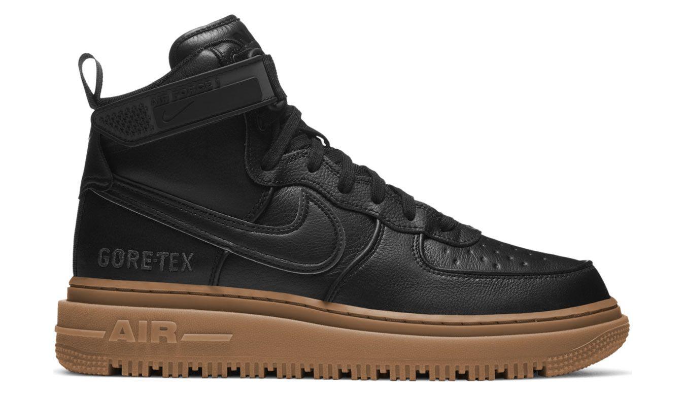 Baskets Nike Air Force 1 GTX Boot (Gore-Tex) - Black, Tailles du 40 au 45 1/2
