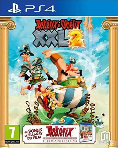 Astérix & Obélix XXL 2 sur PS4 + le film Le Domaine des Dieux