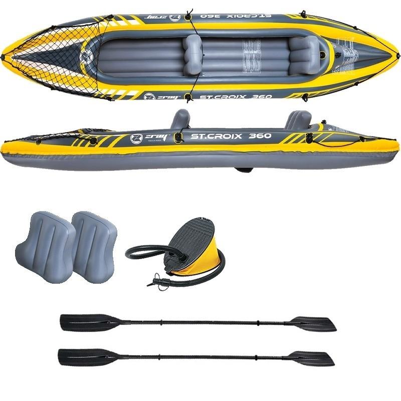 Kayak gonflable 2 places Zray St.Croix 360 - Accessoires inclus (Magasins participants)
