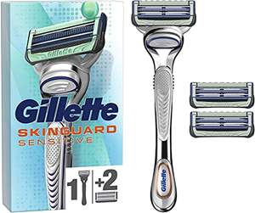Rasoir à l'Aloe Vera Gillette Skinguard + 3 lames de recharges
